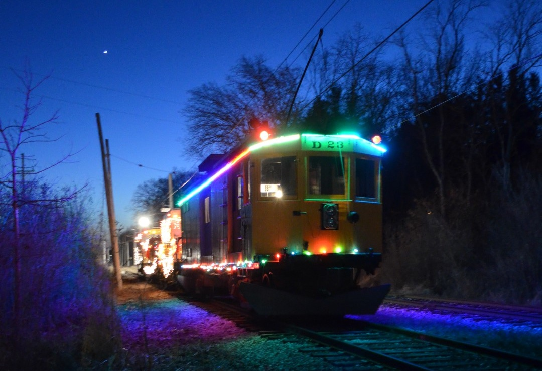 the east troy electric railroads santa parade train will make its annual journey into downtown east troy on saturday dec 2