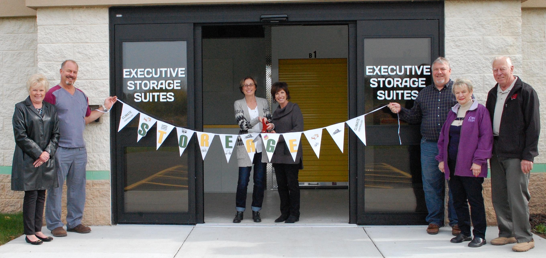 indoor storage units open in business park